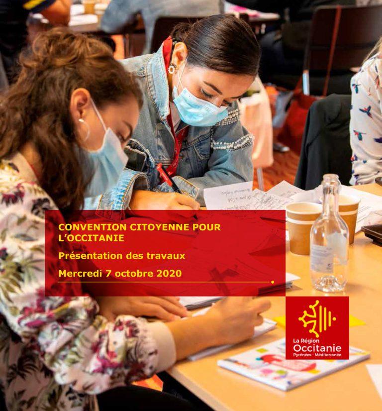 La Convention Citoyenne pour l'Occitanie : 3 semaines pour donner sa vision de l'Occitanie de demain