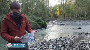 Aucun : visite des élus du PLVG sur le chantier des travaux de restauration du Gave d'Azun au niveau de la confluence du Boularic