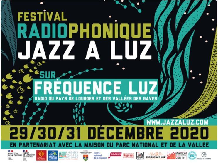 Jazz à Luz, festival radiophonique (29, 30, 31 décembre 2020)