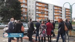 Read more about the article Lourdes : Le Préfet visite le quartier de Lannedarré