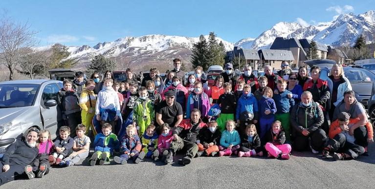 Le Club des Sports Lourdes Hautacam : sortie à Val Louron