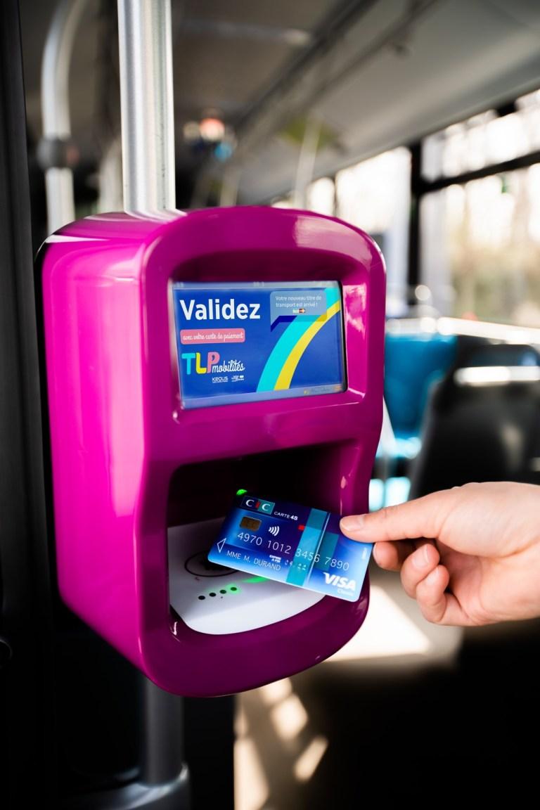 La Communauté d'Agglomération Tarbes Lourdes Pyrénées lance un service de paiement sans contact dans les transports urbains