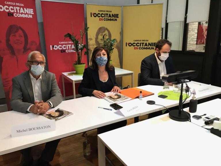 Programme santé de Carole Delga et de la liste «L'Occitanie en Commun»