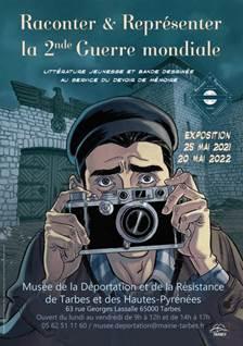 Read more about the article Tarbes : le musée de la Déportation et de la Résistance a rouvert ses portes, expo 1ère Guerre mondiale jusqu'au 7 juillet