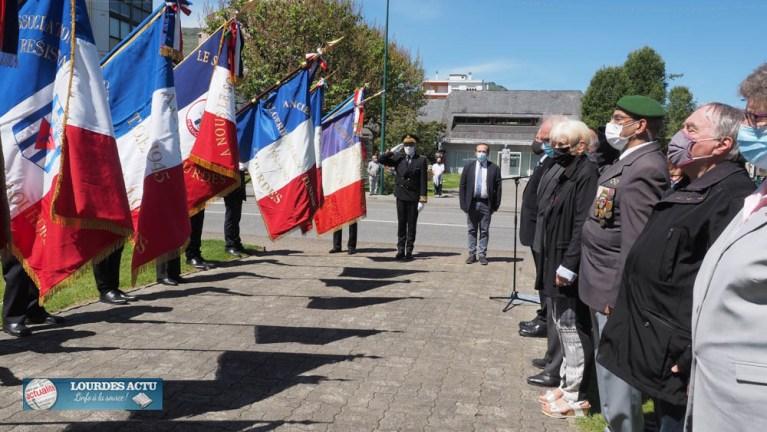 Read more about the article Lourdes : Cérémonie commémorative de la Journée nationale de la Résistance