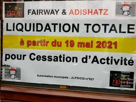 Read more about the article Lourdes : Liquidation totale FAIRWAY ADISHATZ