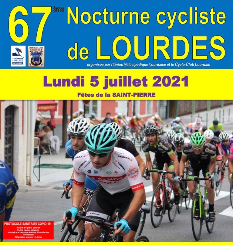Read more about the article 67ème Nocturne Cycliste de Lourdes lundi 5 juillet