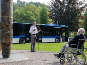 Lourdes : Un nouveau bus pour l'accueil des pèlerins malades ou handicapés