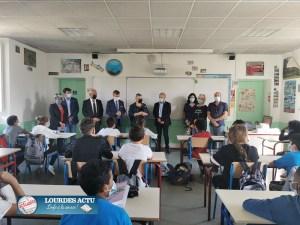 Read more about the article Tarbes : Visite du Collège Desaix par le Président du Conseil départemental et l'Inspecteur d'académie