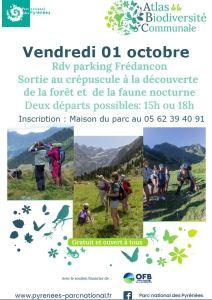 Read more about the article Parc national des Pyrénées : à la découverte de la biodiversité de la vallée de Rioumajou le 1er octobre