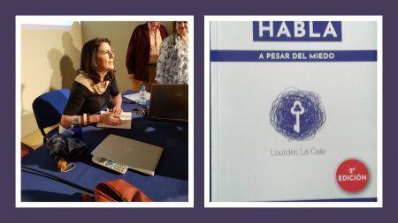Un mes de la publicaciòn de HABLA A PESAR DEL MIEDO y ya una segunda ediciòn.