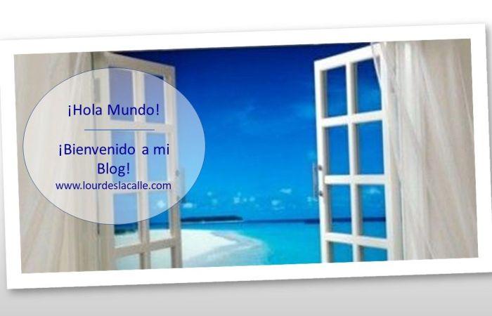¡Bienvenido a mi blog! www.lourdeslacalle.com