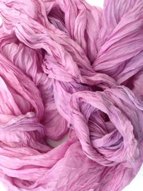 Creased Silk