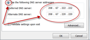 Speed Up a Slow Browser with Public DNS Servers - LouReda