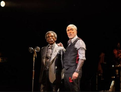 Andre de Shields and Patrick Page. Photo by Helen Maybanks.