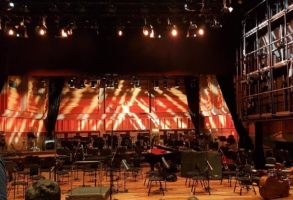 stage of Queen Elizabeth Hall