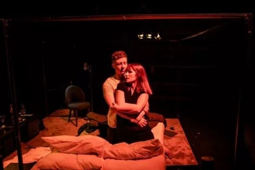 Mike Noble and Charlotte Randle in Cougar.  Photo credit The Other Richard.
