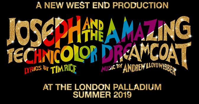 Publicity for Joseph at the London Palladium