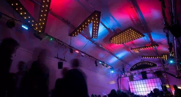 The Vaults Festival. Via The Reviews Hub.