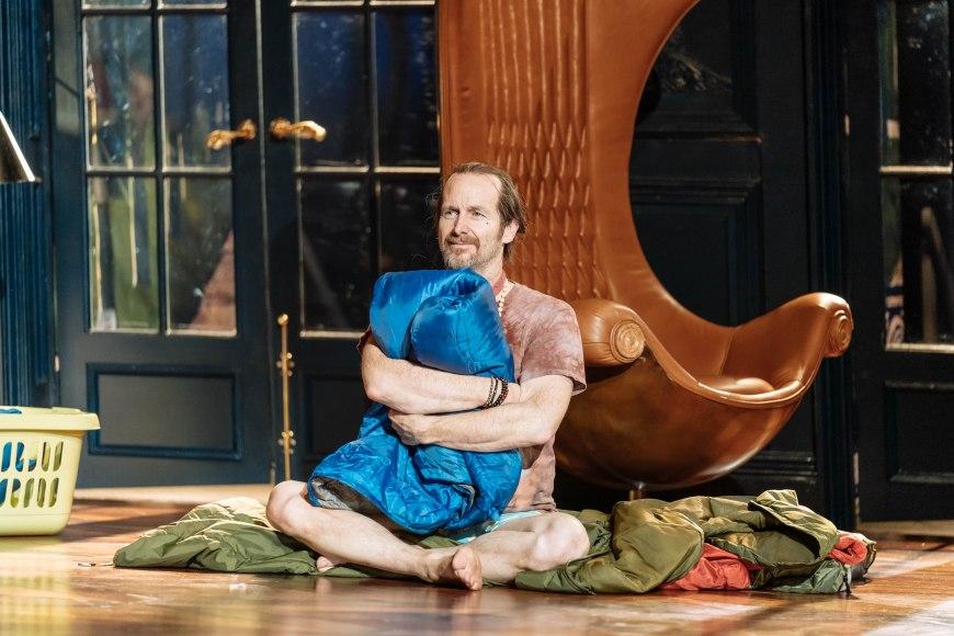 Denis O'Hare in Tartuffe. Photo credit Manuel Harlan.