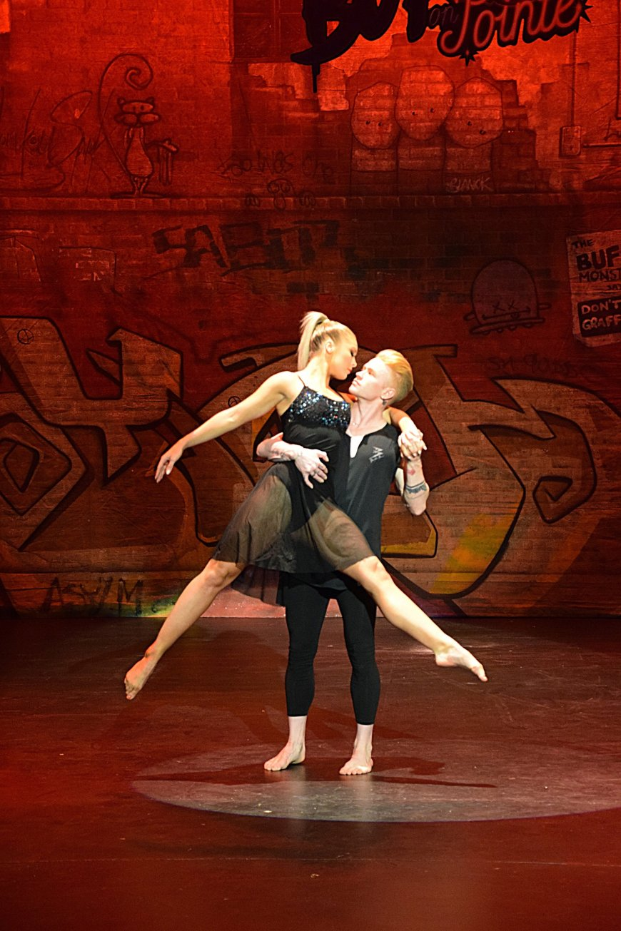 Georgia-Mae Rutland and Brodie Chesher in Beats on Pointe