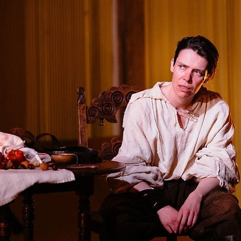 Caoilfhionn Dunne in The Crucible. Photo by Helen Murray.
