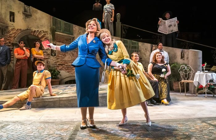 Renee Fleming, Dove Cameron and company of The Light in the Piazza