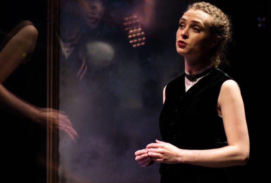 Helen Reuben as Dorian Gray. Photo credit Samuel Tsylor