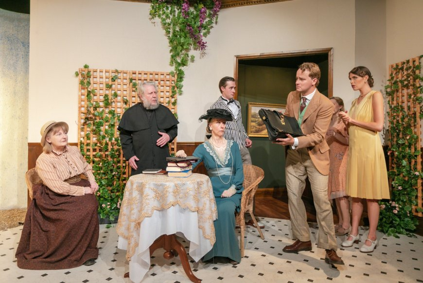 The company of The Importance of Being Earnest