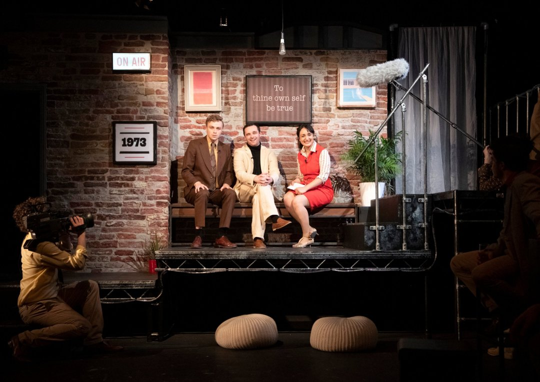 Sam Stafford, Colm Gleeson and Mercedes Assad