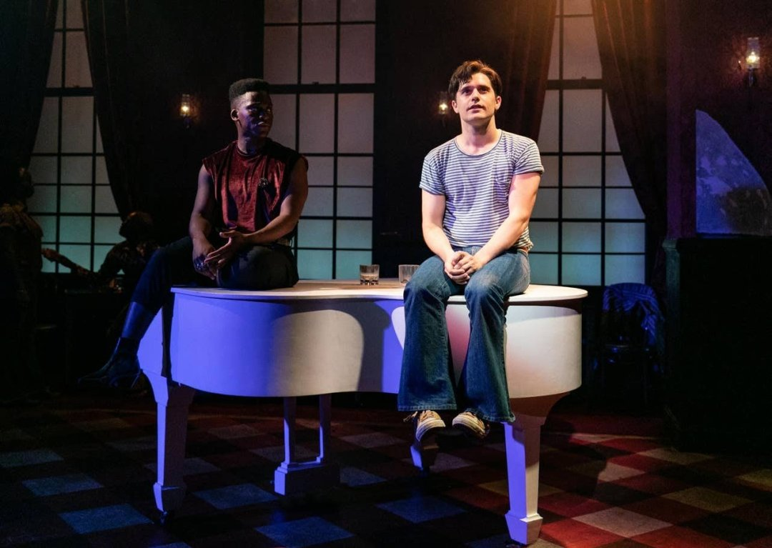 Tyrone Huntley as Wes and Andy Mientus as Patrick