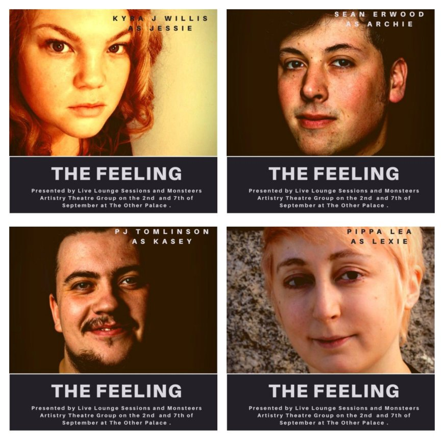 Cast shots from The Feeling, via Monsteers Artistry