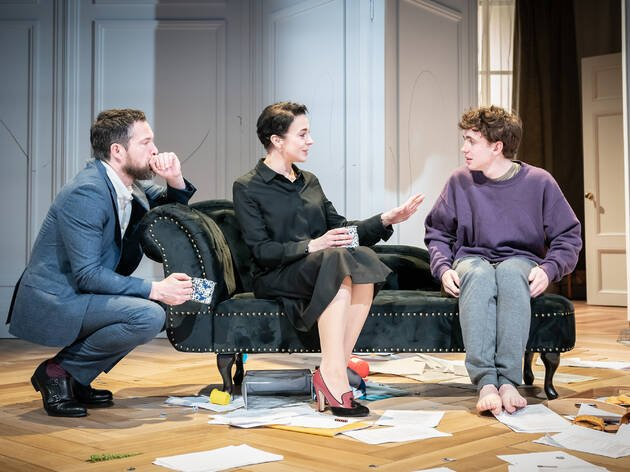 John Light, Amanda Abbington, Laurie Kynaston in The Son