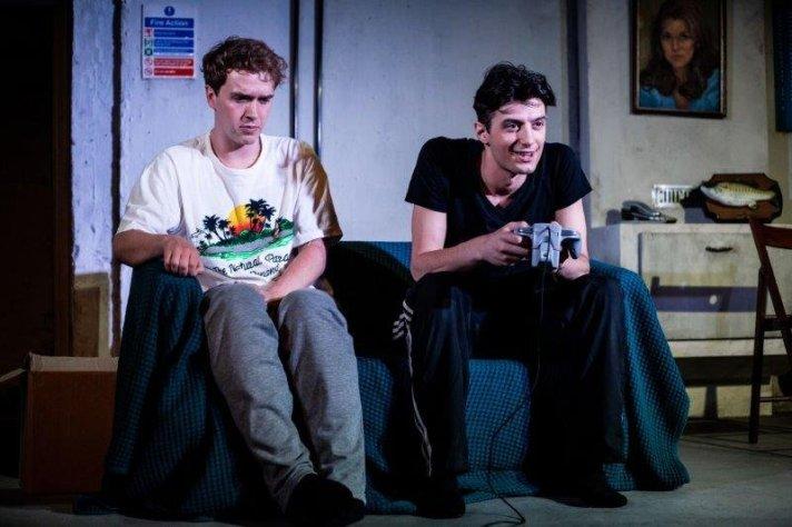 Tom Milligan as Ben and Mirlind Bega as Besnik in World's End