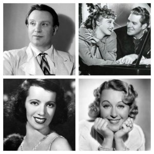 Richard Tauber, Jeanette Macdonald and Nelson Eddy, Lily Pons, Grace Moore