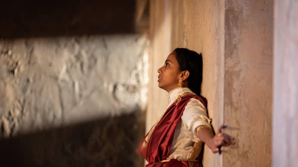 Anjana Vasan as Niru in A Doll's House.