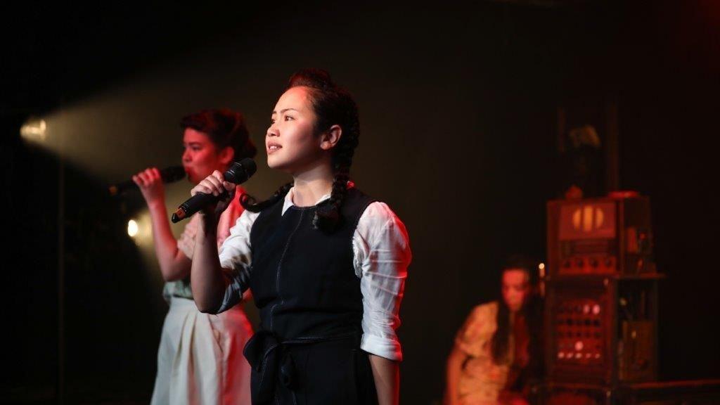 Yuki Sutton, Maya Britto, Hannah Benson in Tokyo Rose