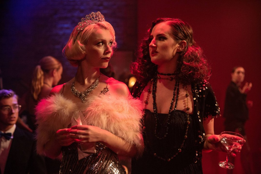 Abigayle Honeywill and Eleanor Lakin in Gentlemen Prefer Blondes.