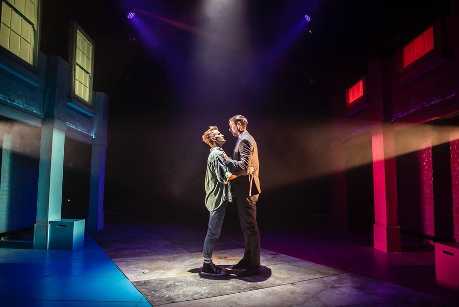 Luke Bayer and Lewis Asquith in Soho Cinders