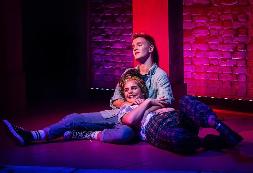 Luke Bayer and Millie O'Connell in Soho Cinders