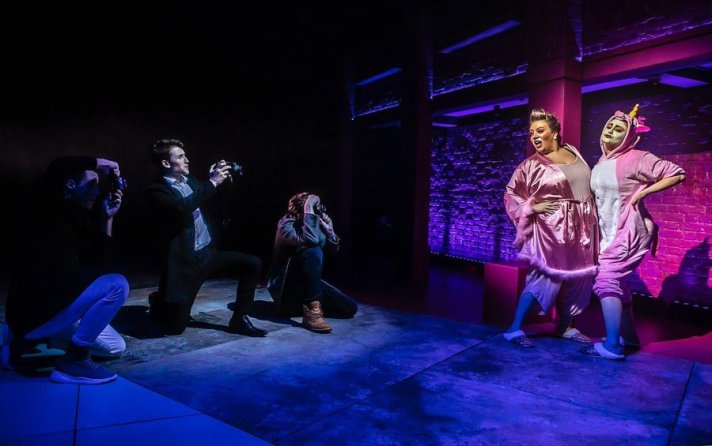 The press and the ugly stepsisters in Soho Cinders