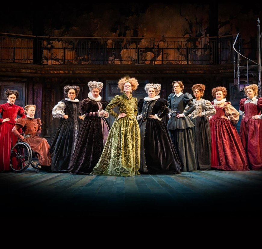 The female cast of The Taming of the Shrew