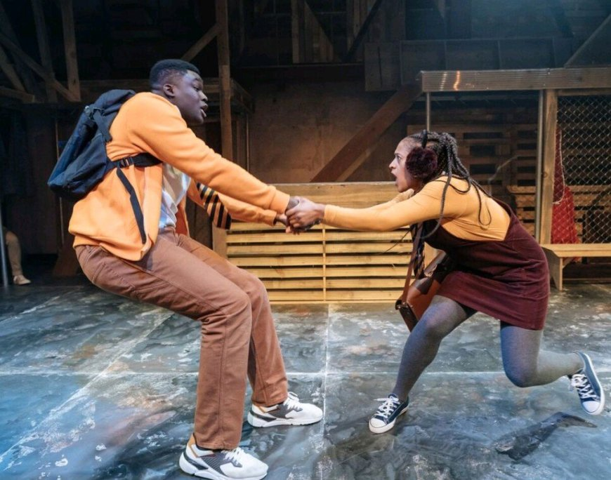 Esmonde Cole and Ayesha Casely-Hayford in The Snow Queen