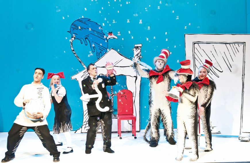 The cast of The Cat in the Hat