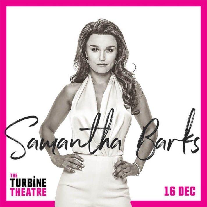 Samantha Barks publicity poster