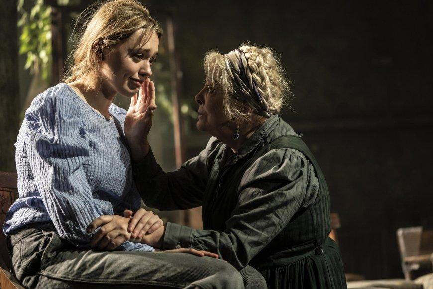 Aimee Lou Wood and Anna Caldee-Marshall as Sonya and Nana.