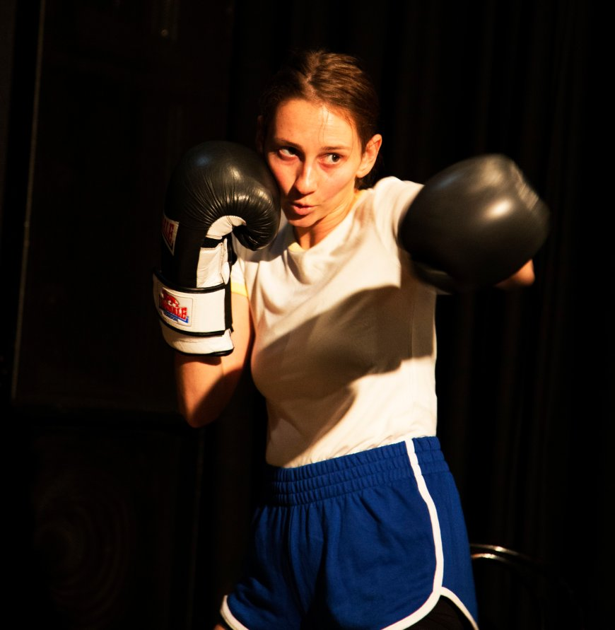 Blow, a Deaf Girl's Fight. Photo from previous production.