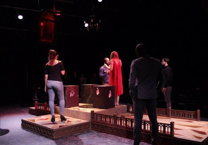Virtue Reality by Gemma Murray, presented by Black Cat Theatre