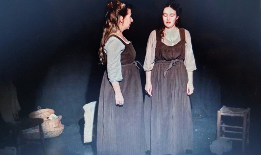 Sharon Drain and Rebecca Jones in Sary