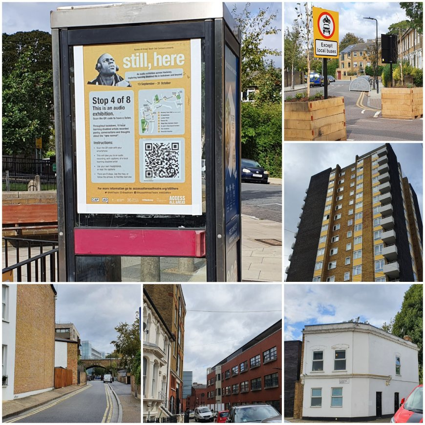 Images of central Hackney